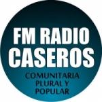 Logo da emissora Radio Caseros 91.5 FM
