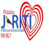 Logo da emissora Rádio Juriti 98.7 FM
