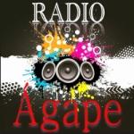 Logo da emissora Rádio Web Ágape