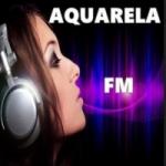 Logo da emissora Aquarela FM