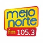 Logo da emissora Rádio Meio Norte 105.3 FM