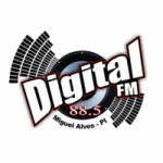 Logo da emissora Rádio Digital 88.5 FM