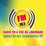 Logo da emissora Rádio FM A Voz da Liberdade 98.5