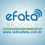 Logo da emissora Rádio Efata