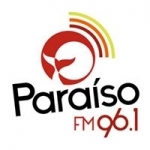 Logo da emissora Radio Paraíso 96.1 FM