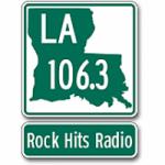 Logo da emissora Radio KXOR LA 106.3 FM