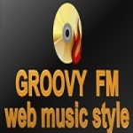 Logo da emissora Rádio Groovy FM
