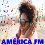 Logo da emissora América FM