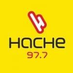 Logo da emissora Radio Hache 97.7 FM