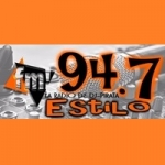 Logo da emissora Radio Estilo 94.7 FM