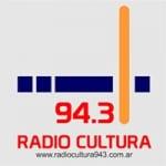 Logo da emissora Radio Cultura 94.3 FM