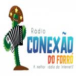 Logo da emissora Rádio Conexão do Forró