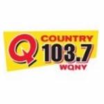 Logo da emissora WQNY 103.7 FM