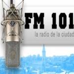 Logo da emissora Radio Ciudad 102.1 FM