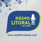 Logo da emissora Rádio Litoral Web