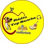 Logo da emissora Rádio Top Samba