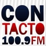 Logo da emissora Radio Contacto 100.9 FM
