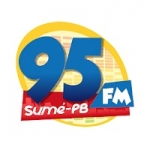 Logo da emissora Rádio 95 FM Sumé