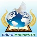 Logo da emissora Rádio Maranata Udia