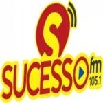 Logo da emissora Rádio Sucesso 105.1 FM