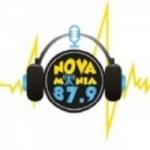 Logo da emissora Rádio Nova Mania 87.9 FM