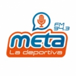 Logo da emissora Radio Meta 94.3 FM