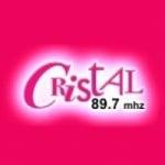 Logo da emissora Radio Cristal 89.7 FM