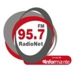 Logo da emissora Radio Net 95.7 FM