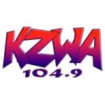 Logo da emissora Radio KZWA 104.9 FM