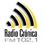 Logo da emissora Radio Crónica 102.1 FM