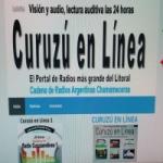 Logo da emissora Radio Curuzú en Línea