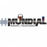 Logo da emissora Rádio Mundial 100.5 FM