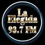 Logo da emissora Radio La Elegida 93.7 FM