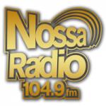 Logo da emissora Nossa Rádio 104.9 FM