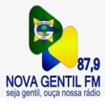 Logo da emissora Rádio Nova Gentil 87.9 FM