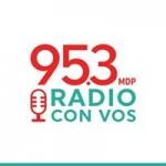 Logo da emissora Radio Con Vos 95.3 FM