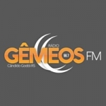 Logo da emissora Rádio Gêmeos 98.7 FM