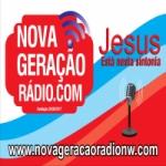 Logo da emissora Nova Geração Rádio
