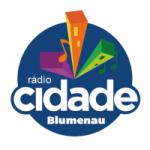 Logo da emissora Rádio Cidade Blumenau