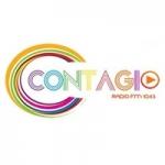 Logo da emissora Radio Contagio 104.5 FM