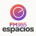 Logo da emissora Radio Espacios 99.5 FM
