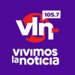 Logo da emissora Radio Vivimos La Noticia 105.7 FM