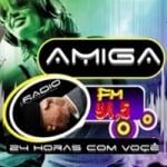 Logo da emissora Radio Amiga 94.5 FM
