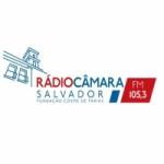Logo da emissora Rádio Câmara Salvador 105.3 FM