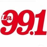 Logo da emissora Radio La 99 99.1 FM