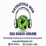 Logo da emissora Patriótica Web