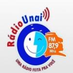 Logo da emissora Rádio Comunitária Unaí 87.9 FM