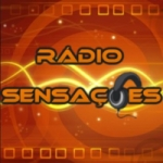 Logo da emissora Rádio Sensações