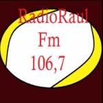 Logo da emissora Rádio Raul FM