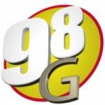 Logo da emissora Rádio 98 G